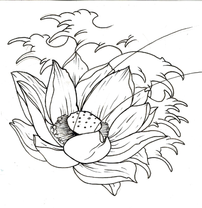 Small Flowers Tattoos on Lotus Flower Tattoos Designs 9 Lotus Flower Tattoos Designs