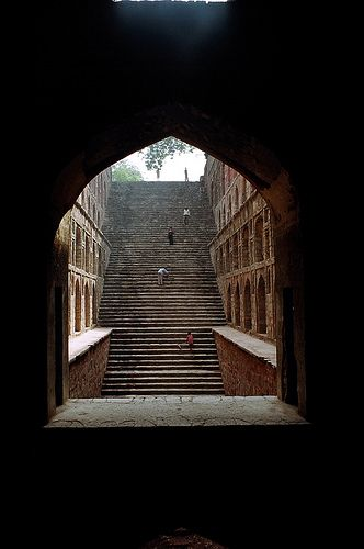 Stepwell Agrasen stepwell in New Delhi