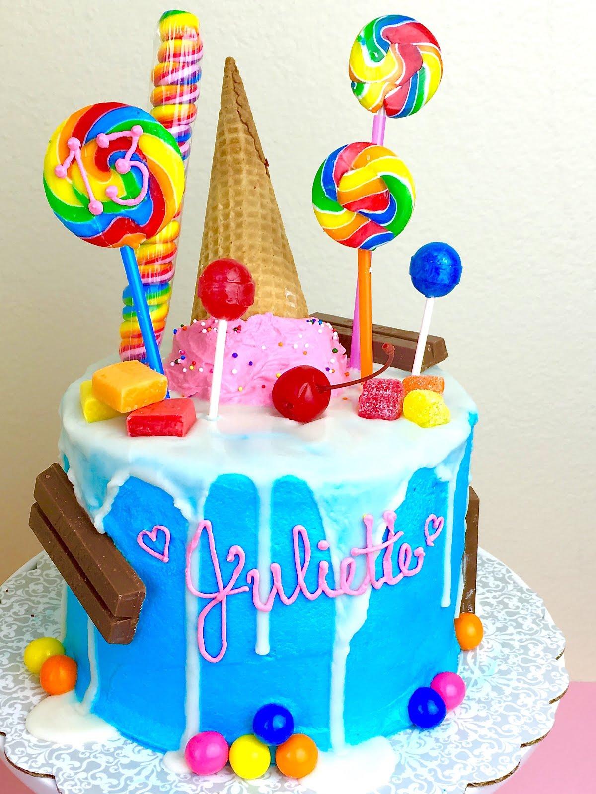 Candy Cake Lindsay Ann Bakes