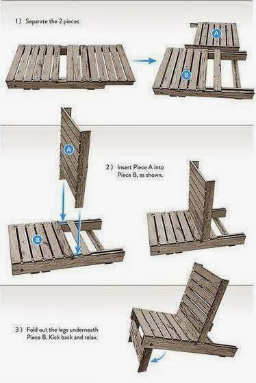 El detalle que hace la diferencia ideas para hace for Como hacer muebles con palets de madera