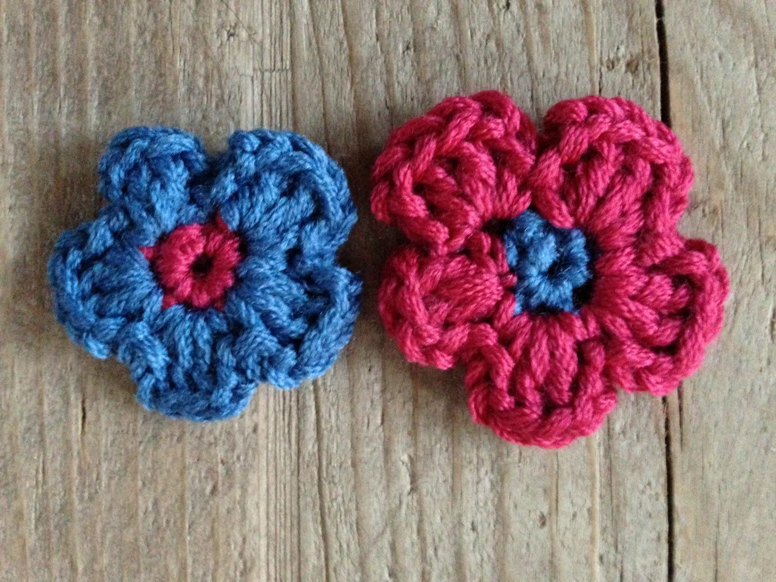 Annoos Crochet World Beginners Crochet Free Flower Tutorial
