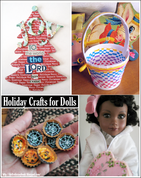 Doll Holiday Craft Index