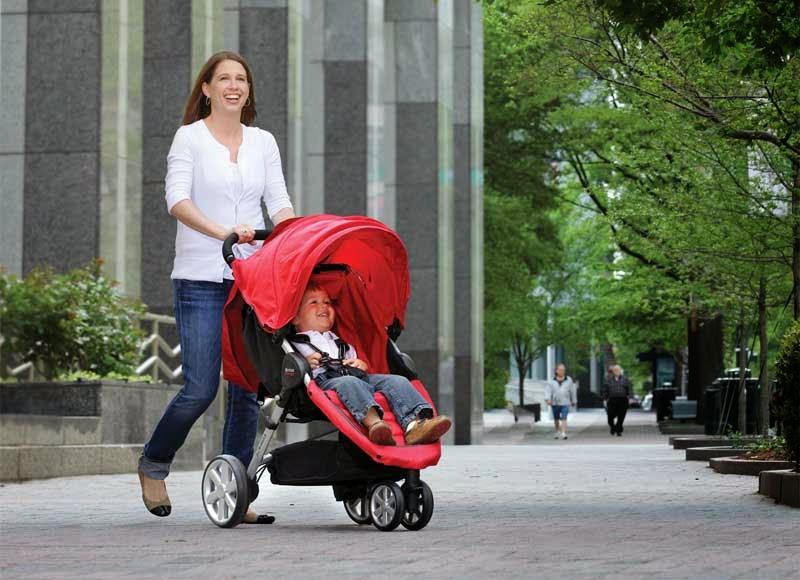 Sale Britax B-Agile Stroller, Red