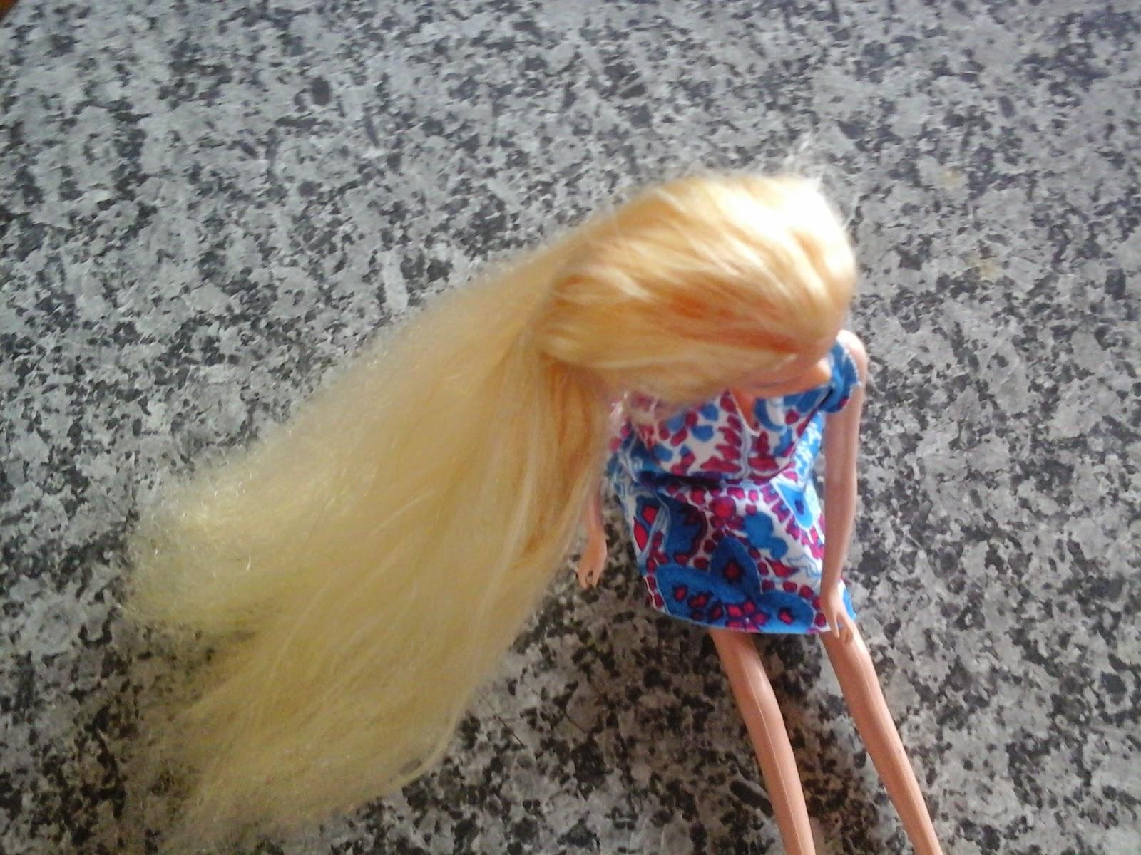 depois da progressiva de barbie