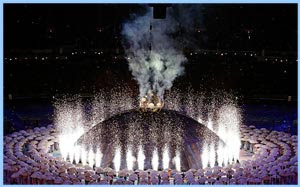 Paralympics opening ceremony image