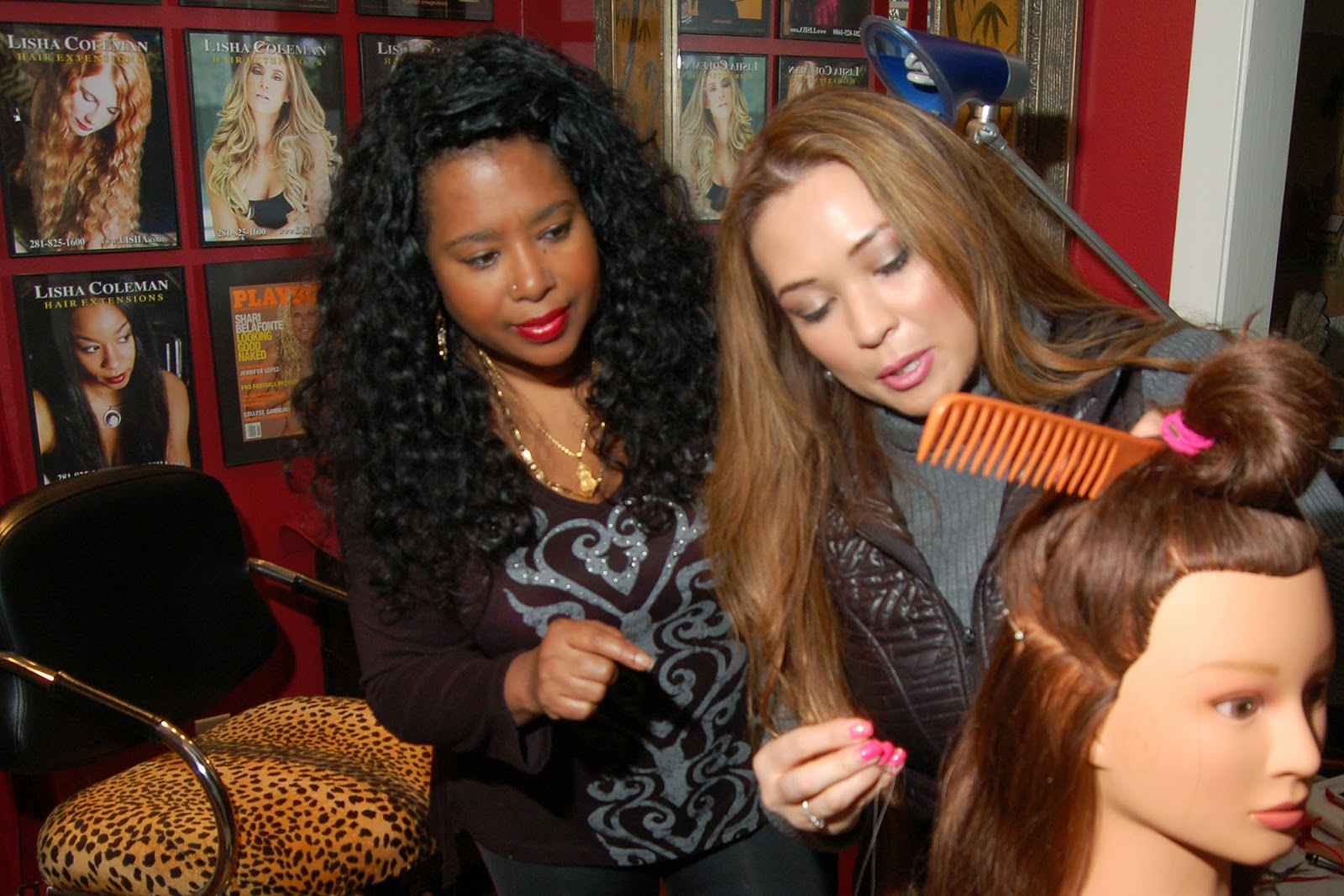 Lisha Coleman Team Expands To Long Beach California Hair