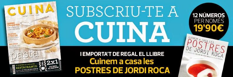 Promoció revista CUINA