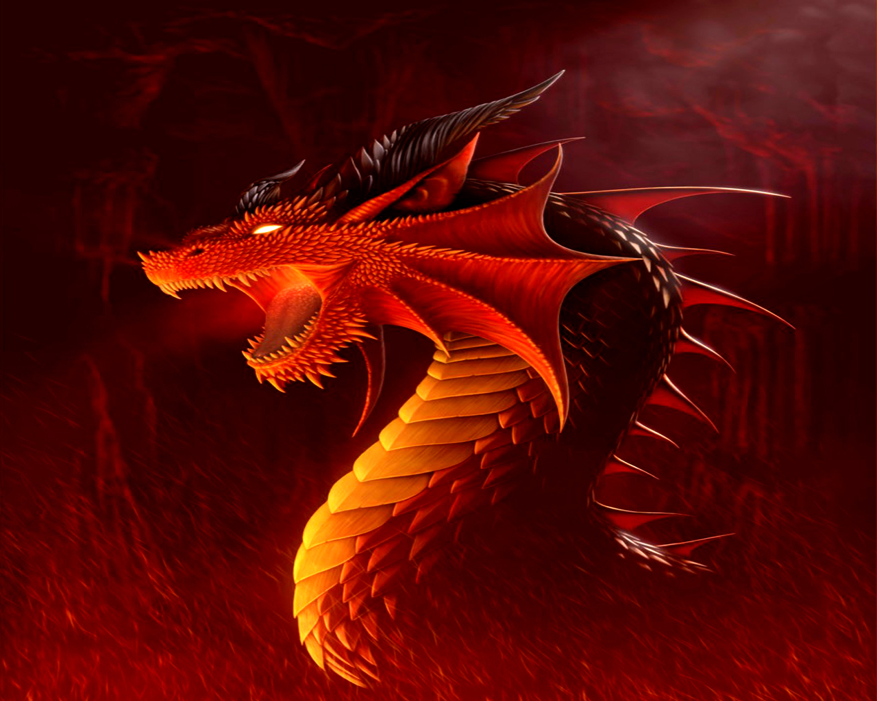 real red dragon