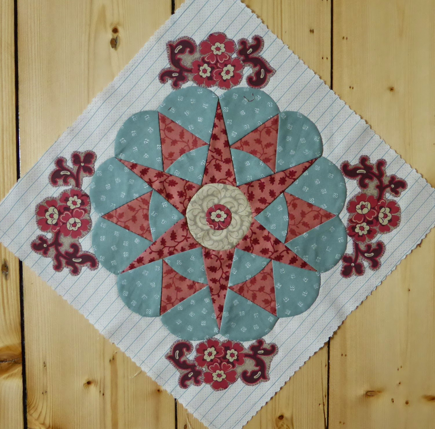 Block #22 Antique Wedding Sampler (re-visited) Di Ford