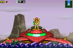 Metroid Zero Mission Samus ship