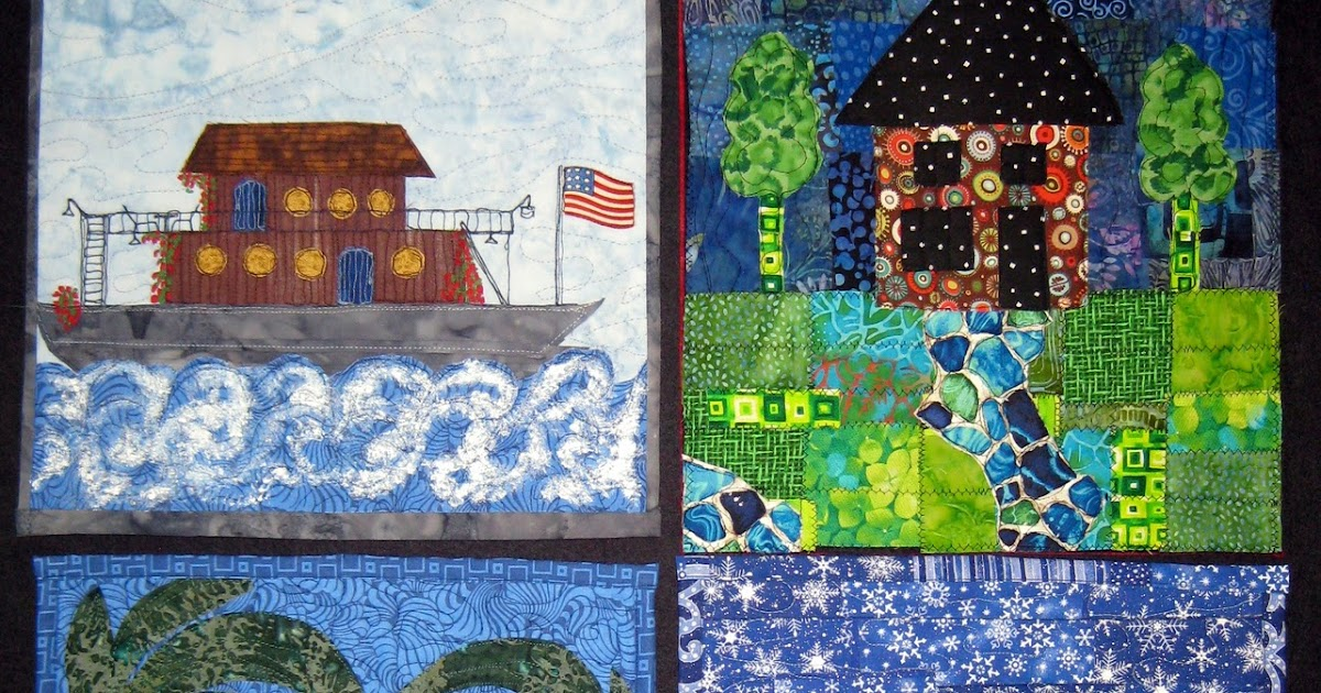 Twisted Sister Quot Welcome Home Quot Patriotic House Quilt Project