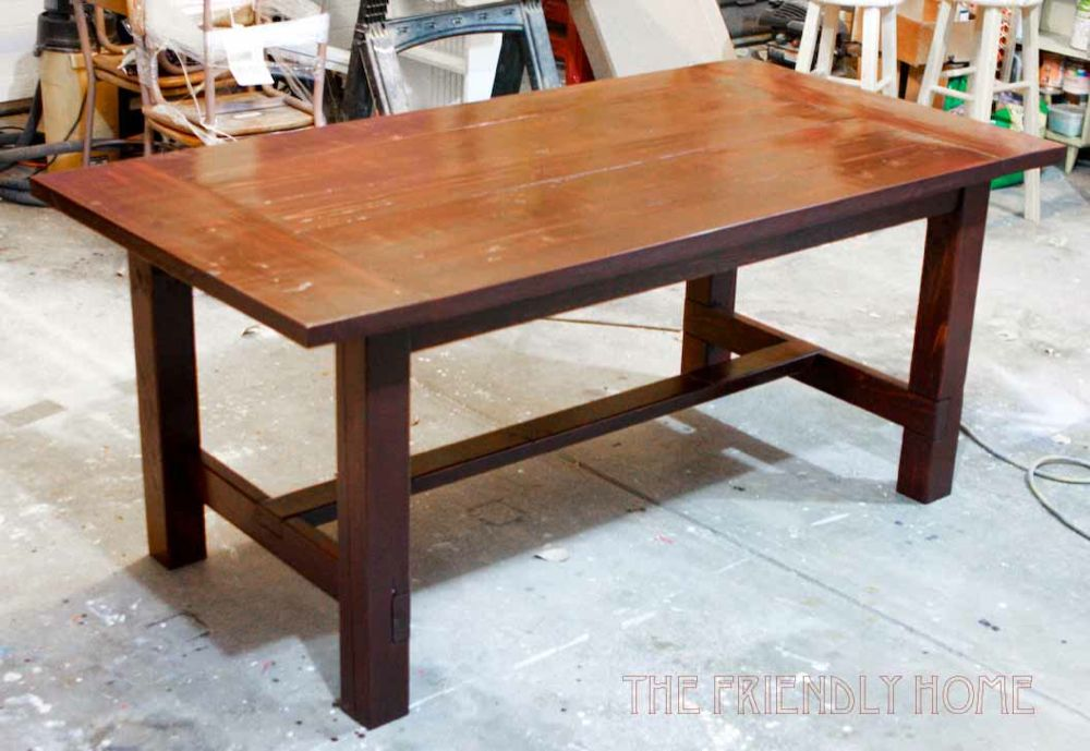 Redirecting for How to build a farmhouse table plans