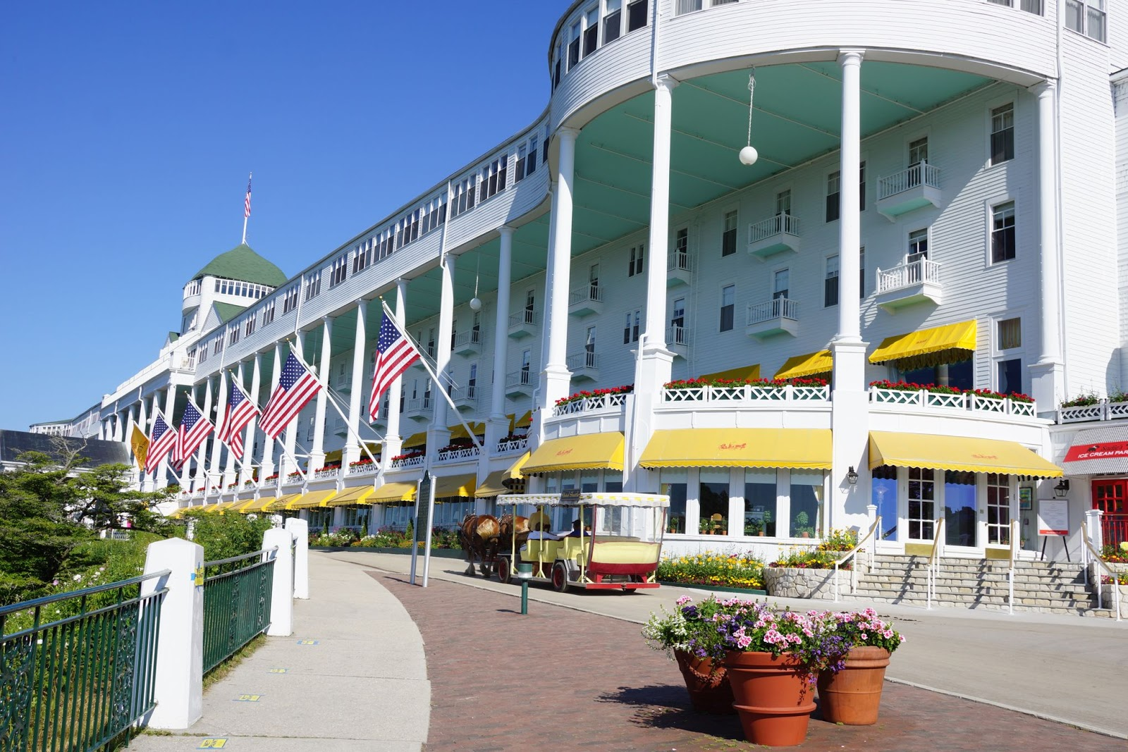The grand hotel mackinac island mi good taste is the for Grand hotel