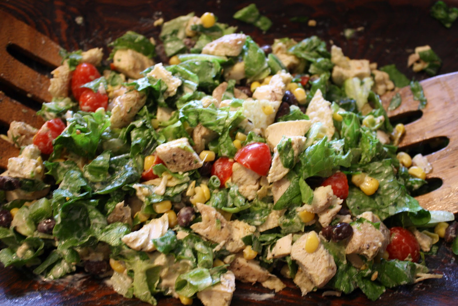 Charming Day: Southwestern Chopped Chicken Salad