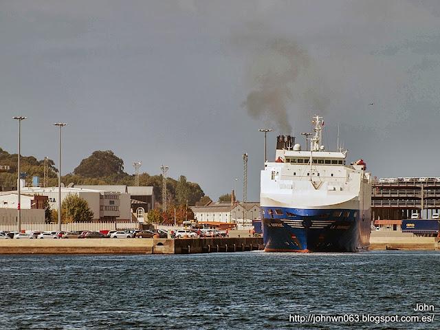 fotos de barcos, imagenes de barcos, la surprise, suardiaz, Ro-Ro, vigo