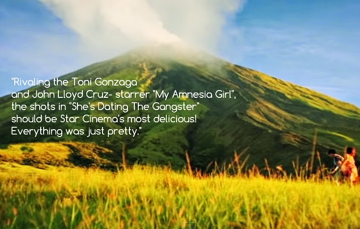 she's dating the gangster review