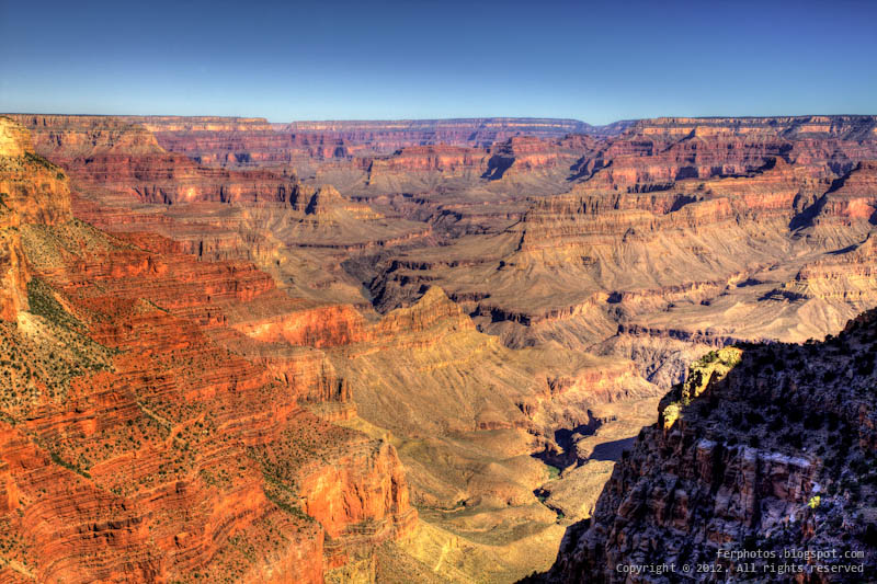 HDR Grand Canyon National Park Arizona Colorado