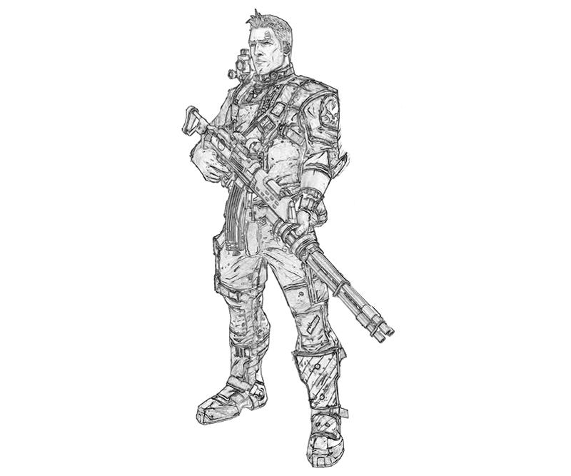 borderlands-2-axton-commando-coloring-pages