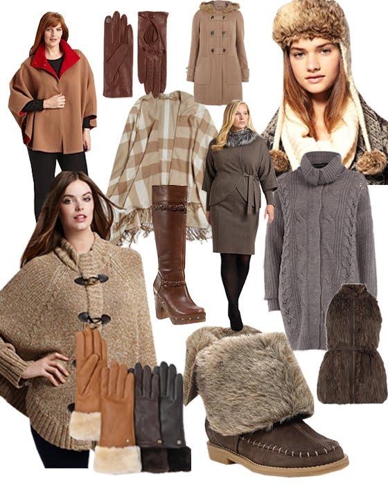 Plus Size Women Winter Fashion Plus Size Winter Wears in