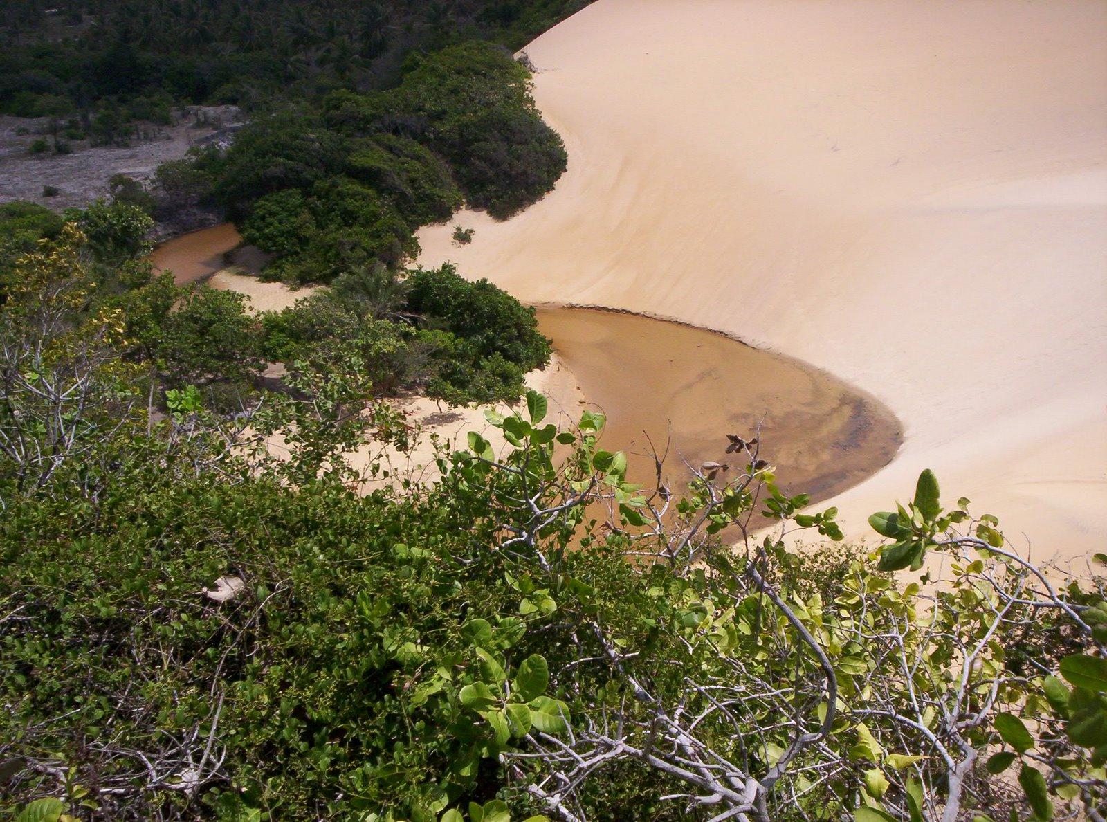 Lagoa Redonda e Pirambu