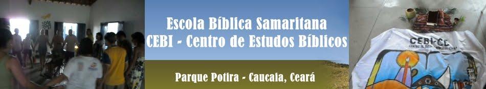 Escola  Bíblica samaritana - CEBI