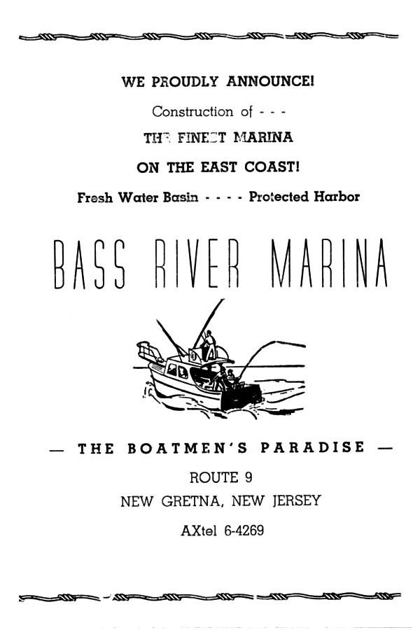 BASS RIVER TOWNSHIP, N.J. HISTORY . . . etc.: The Bass River ...
