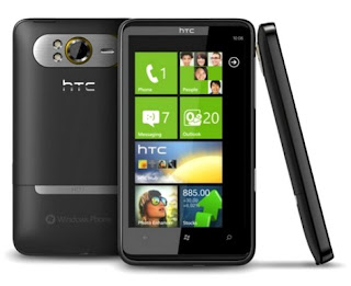 HTC HD2 big touchscreen phone has 4.2 inch