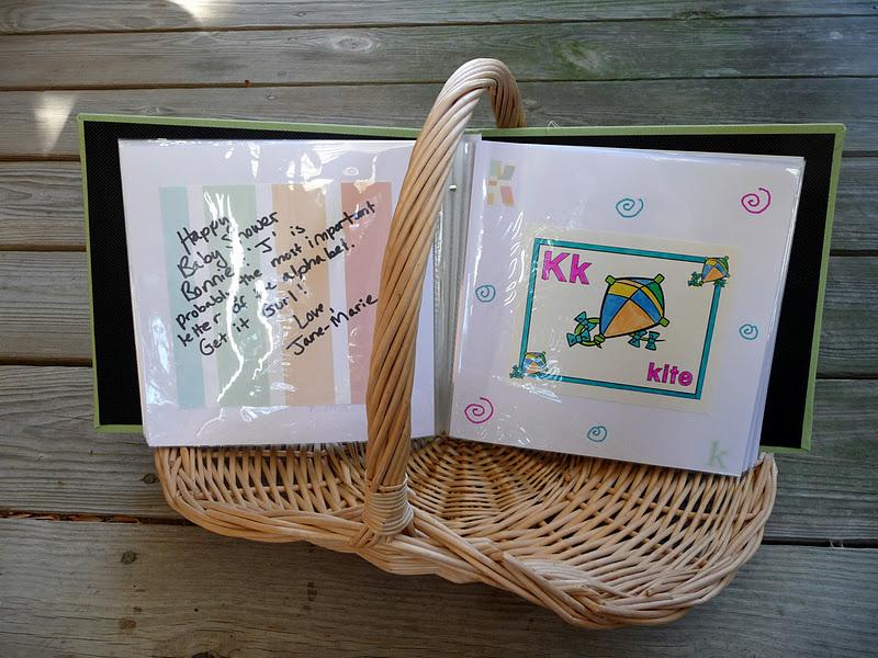 Making Stuff Is Fun Baby Shower Craft Hour Alphabet Book
