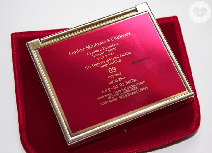 Clarins Eye Quartet Mineral Palette in 'Odyssey'