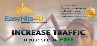 รับเงินฟรี จาก EasyHits4U