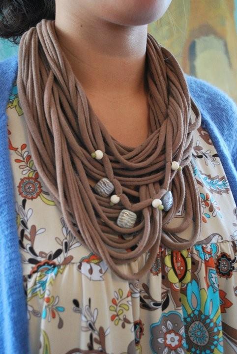 viridorari recycling projects t shirt scarf