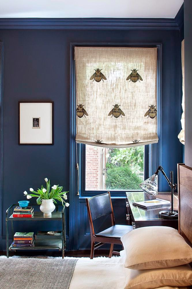 color blocked curtains are not only a cool modern idea but are also super trendy right now