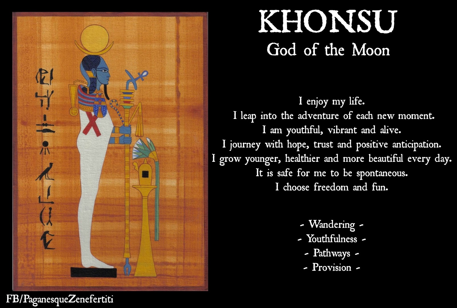 Paganesque june 2013 khonsu god of the moon biocorpaavc Gallery