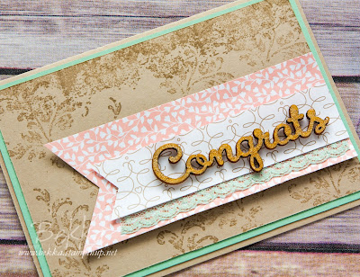 Timeless Textures and a Wink Of Stella Congratulations Card - get all the details here