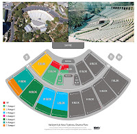 Pictures of the Harbiye and seating plans
