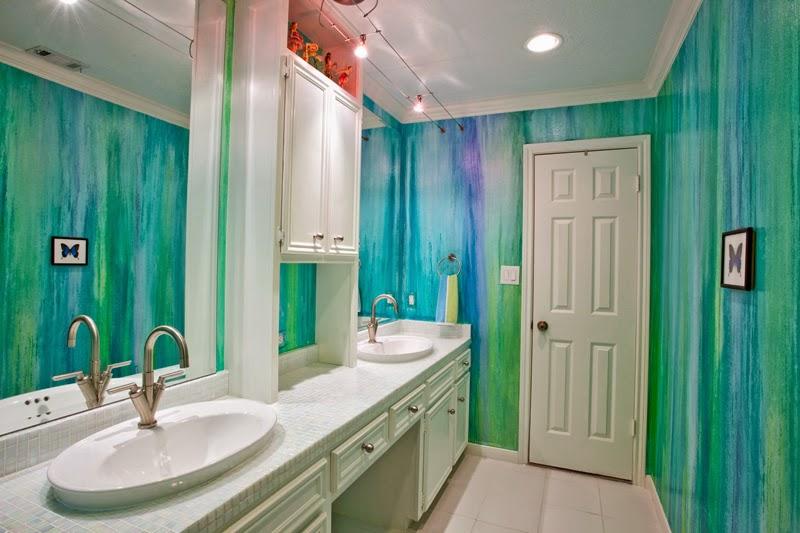 Celebrity homes amazing kids bathroom wall d  cor ideas. Childrens Bathroom Themes  Bathroom ideas designs e best