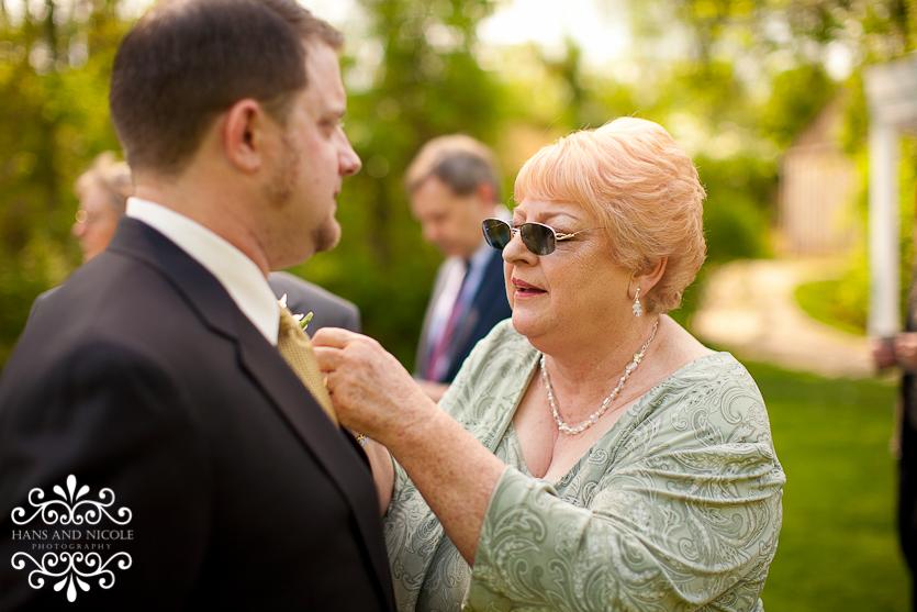 wedding detail at a frederick wedding