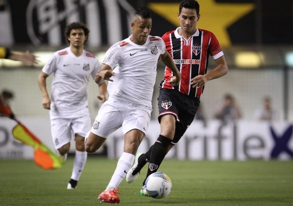 Santos 0 x 0 São Paulo - Geuvânio x Ganso