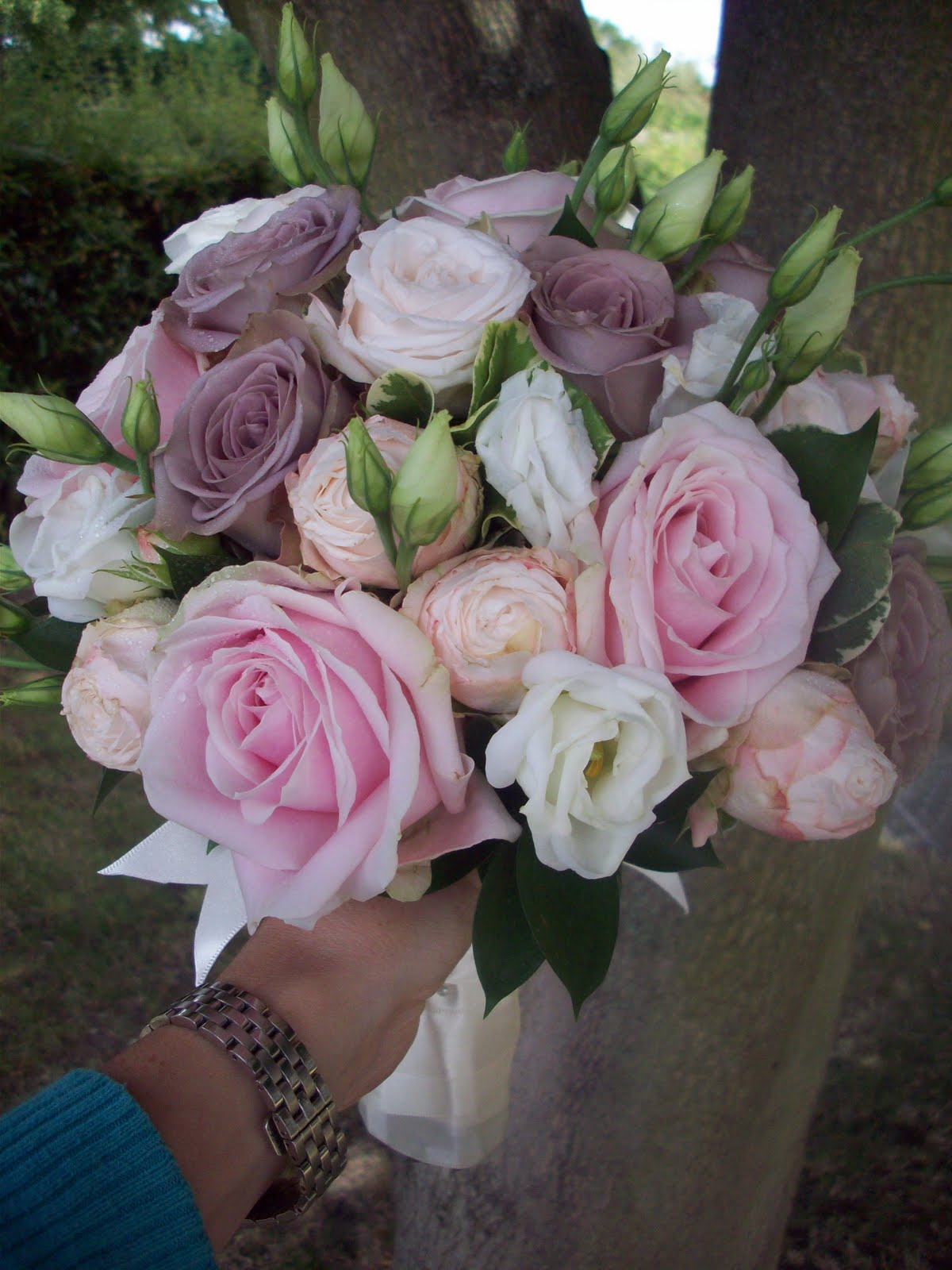 Florian designer florist wedding flower specialist mink and blush harmony had picked a soft muted colour theme of blush pink mink and ivory the look had to be soft and blousey to match mightylinksfo