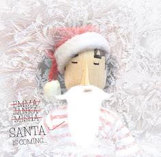 Misha se déguise en Père Noëlpour vous souhaiter de belles fêtes !