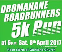 5k race nr Mallow...Sat 8th Apr 2017