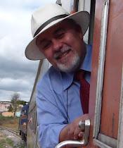 Twitter do homem do trem