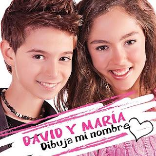 Maria Parrado y David Parejo: Dibuja mi nombre