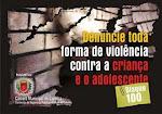 Vamos acabar com a violência contra crianças e adolescentes