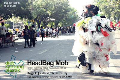 tongkrongan solo, headbagmob, monster plastik