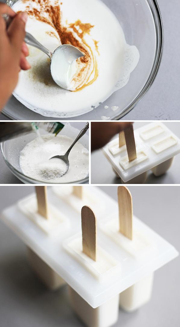 The Kipi Blog: DIY || #24 || Homemade Creamy Coconut Popsicles