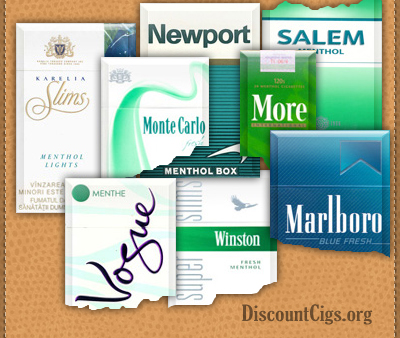 Menthol Cigarettes for UK