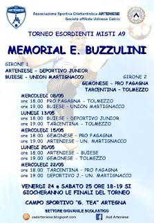 "Torneo Esordienti Memorial ""Elio Buzzulini"""