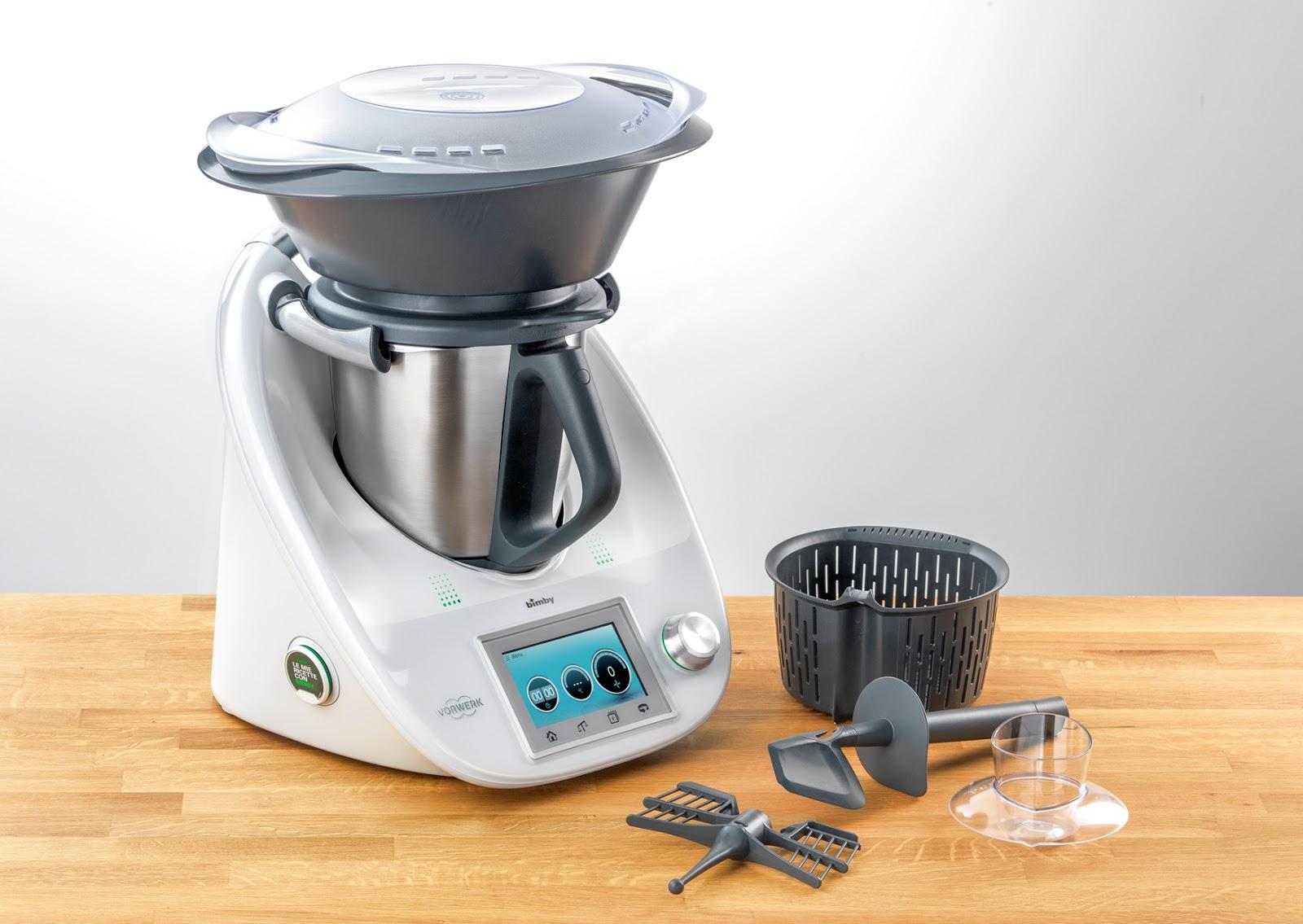 Cinzia ai fornelli scopri il nuovo bimby tm5 - Robot da cucina bimby prezzo ...