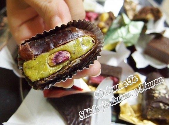 fadina stuffed dates pistachio